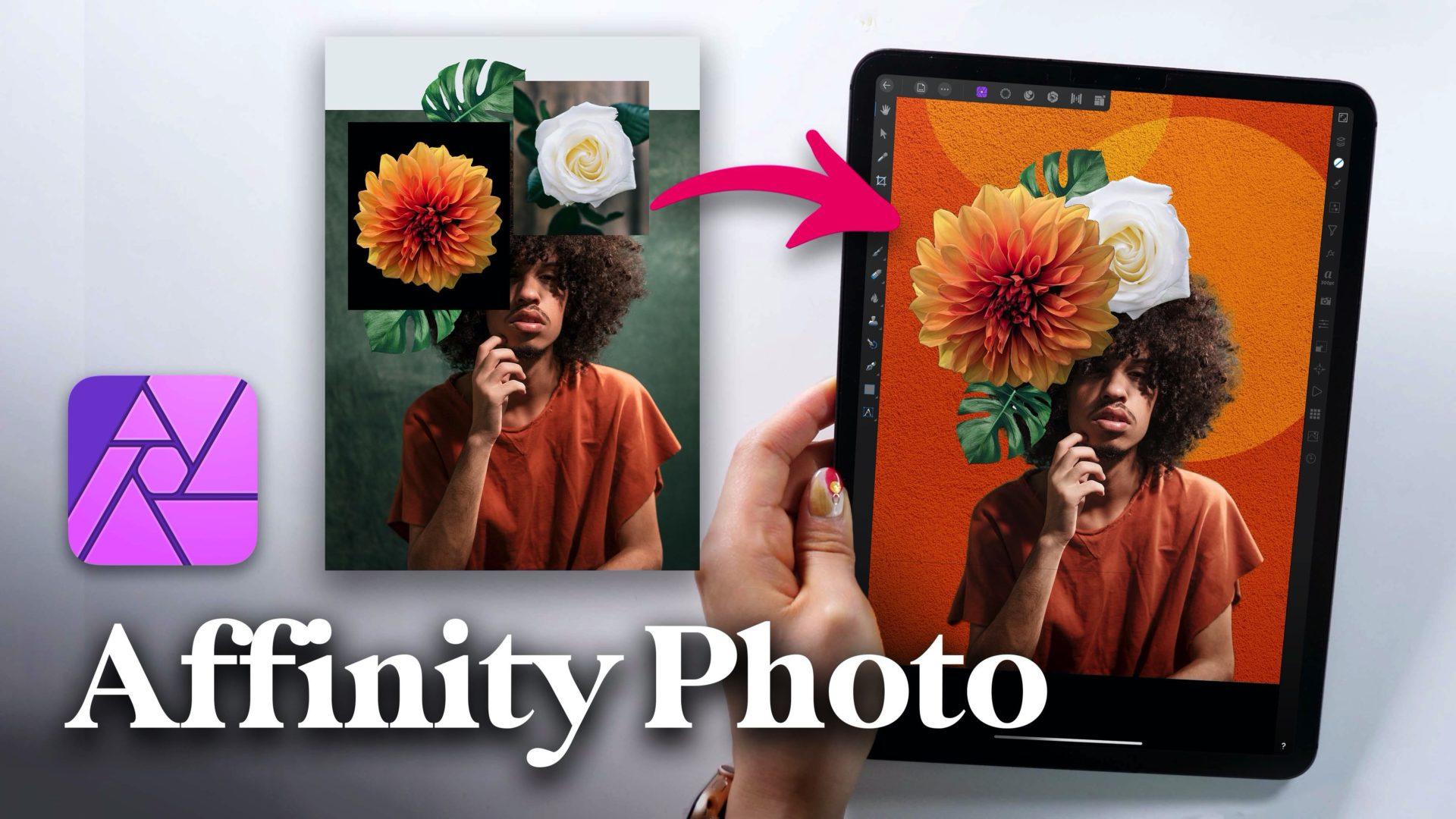 Affinity Photo iPad版でプロ並みの合成画像を作る!実践講座