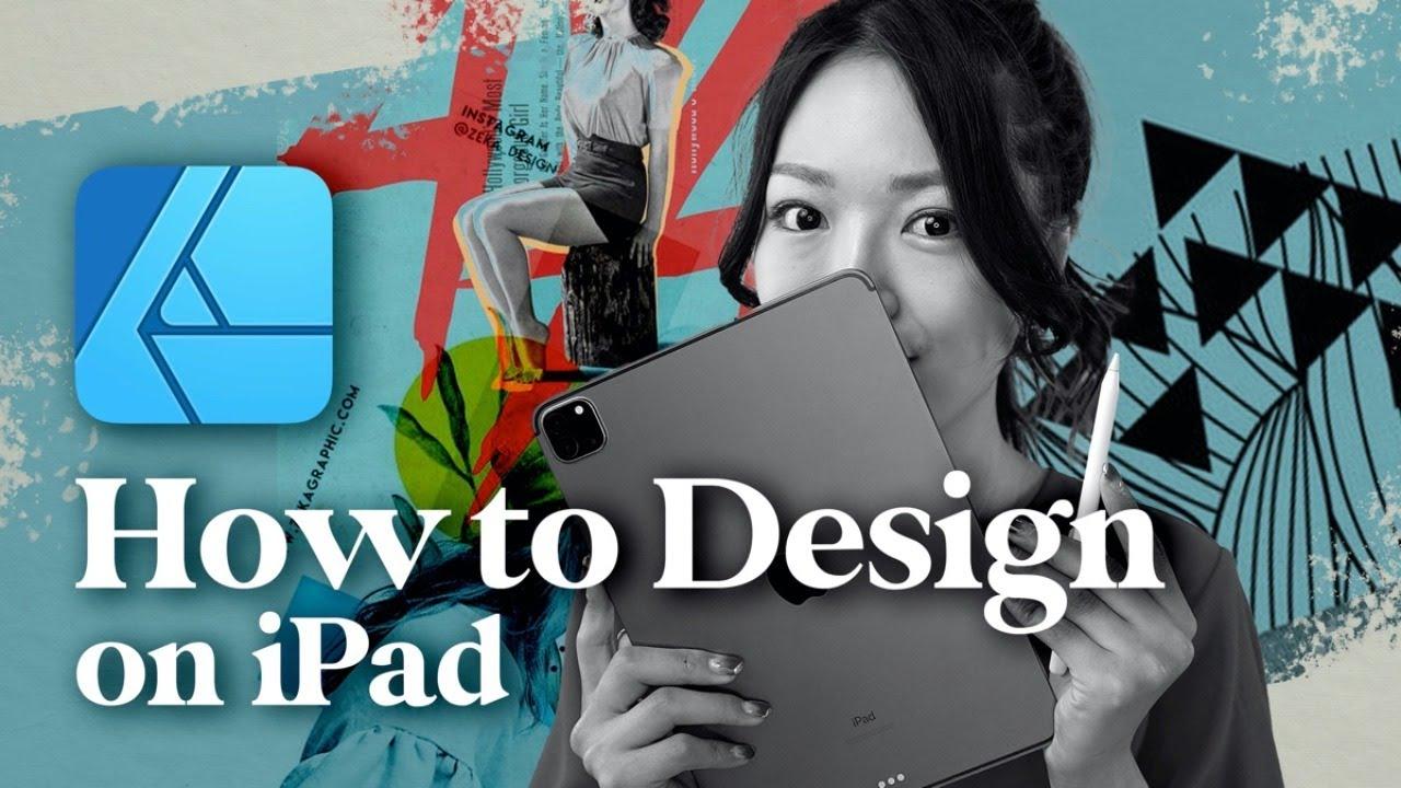 iPadセミナー「Affinity Designerでおしゃれレイアウトをマスターする!デザイン授業」を公開